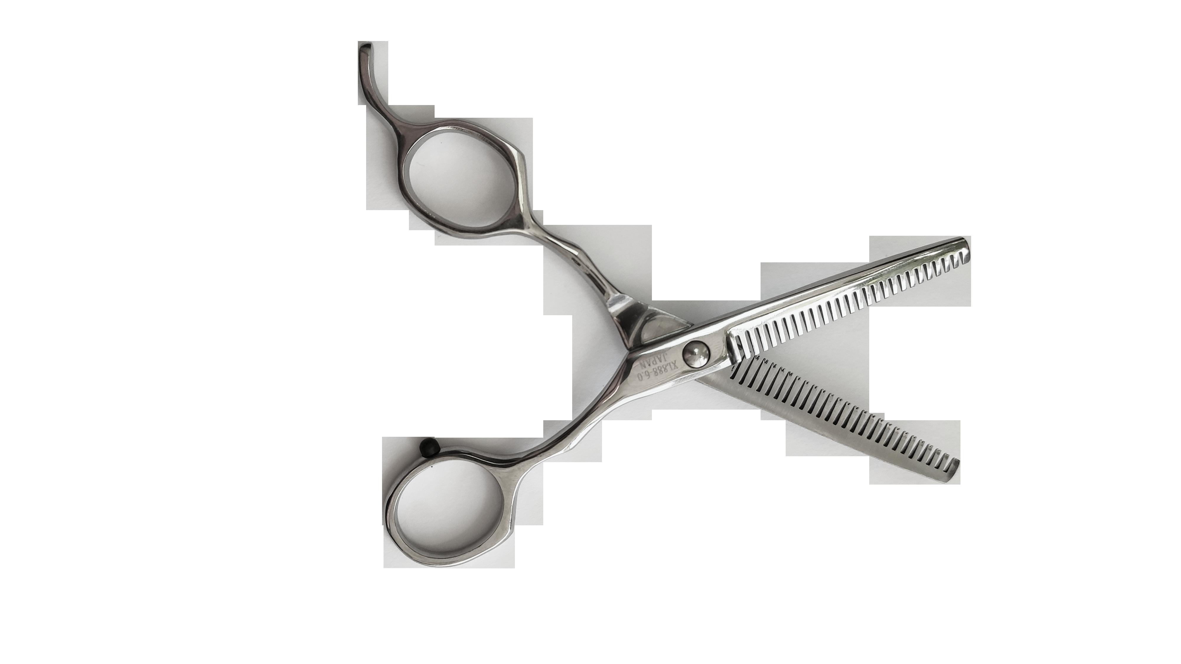 Ножницы филировочные для животных xl888-6.0